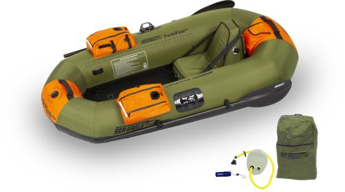 PackFish7™ Deluxe Fishing Inflatable Fishing Boats Package