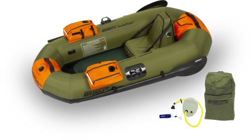 PackFish7™ Pro Fishing Inflatable Fishing Boats Package