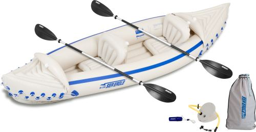SE 330 Deluxe Kayak Inflatable Kayak Package