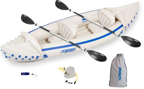 SE 330 Deluxe Kayak Inflatable Kayak Package