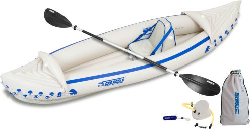 SE 330 Pro Solo Kayak Inflatable Kayak Package