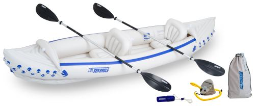 SE 370 Deluxe Inflatable Kayak Package