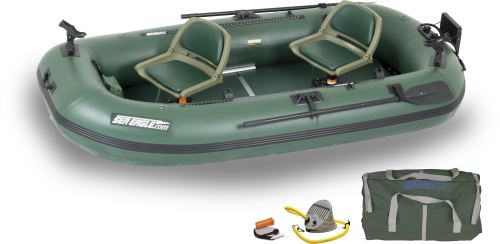 Stealth Stalker 10 Pro Inflatable Pontoon Fishing Boat Package