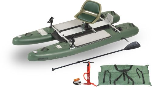 SUPCat10 Deluxe Inflatable Fishing Boats Package