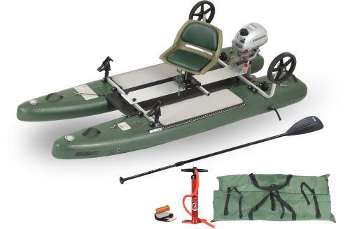 SUPCat10 Honda Motor Inflatable Fishing Boats Package