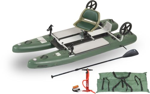 SUPCat10 Pro Inflatable Fishing Boats Package