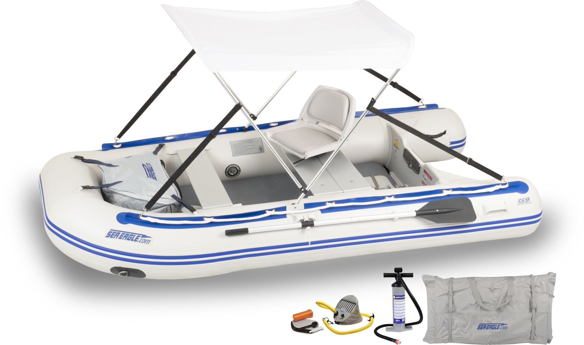 COASTO Rubber Dinghy With Drop Stitch Ground Dinghy Dinghy Motorboat Boat Rowing