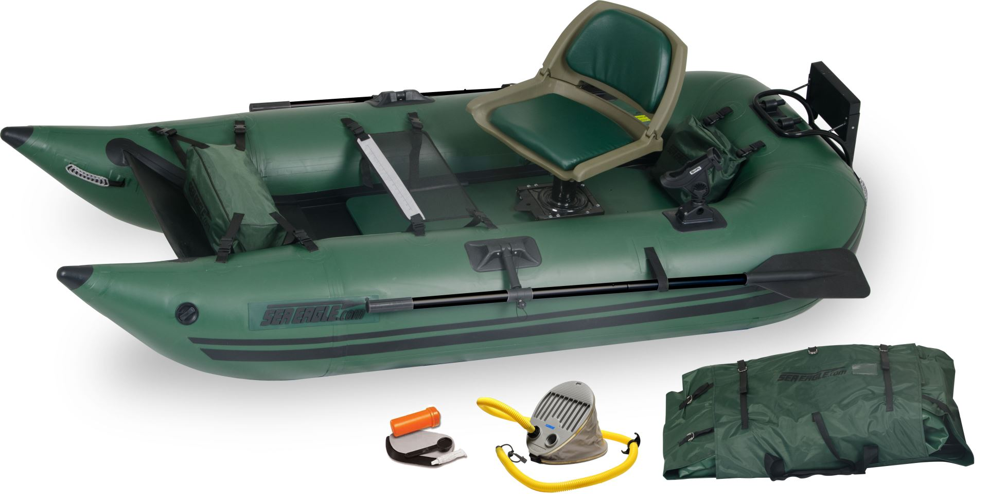 Sea eagle 285fpb 1 person inflatable fishing boats for Inflatable fishing boats