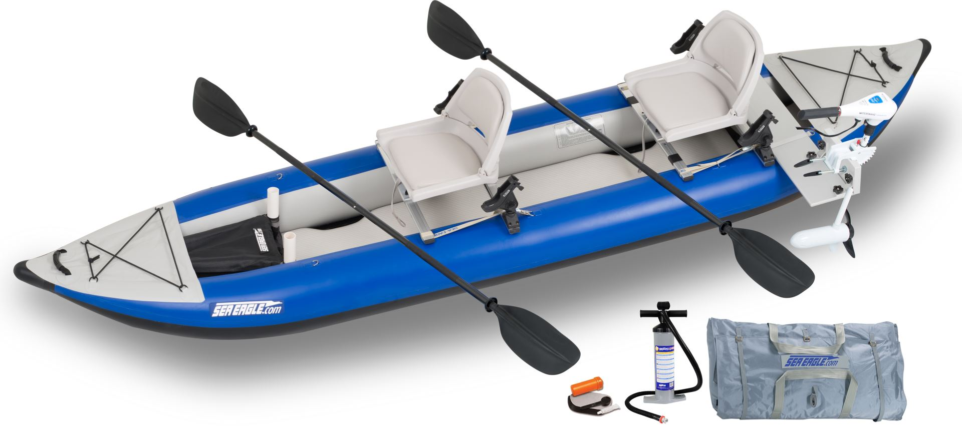 Sea Eagle 420x 3 Person Inflatable Kayaks Package Prices