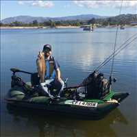 Frameless Inflatable Fishing Boats Fishing