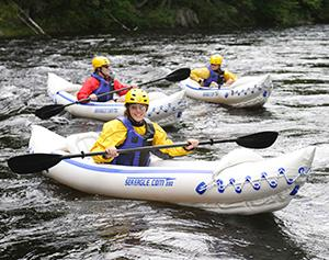 Sport Inflatable Kayaks action shot