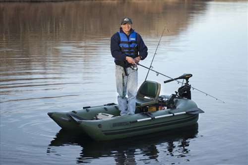 Used inflatable boats for Inflatable fishing pontoon