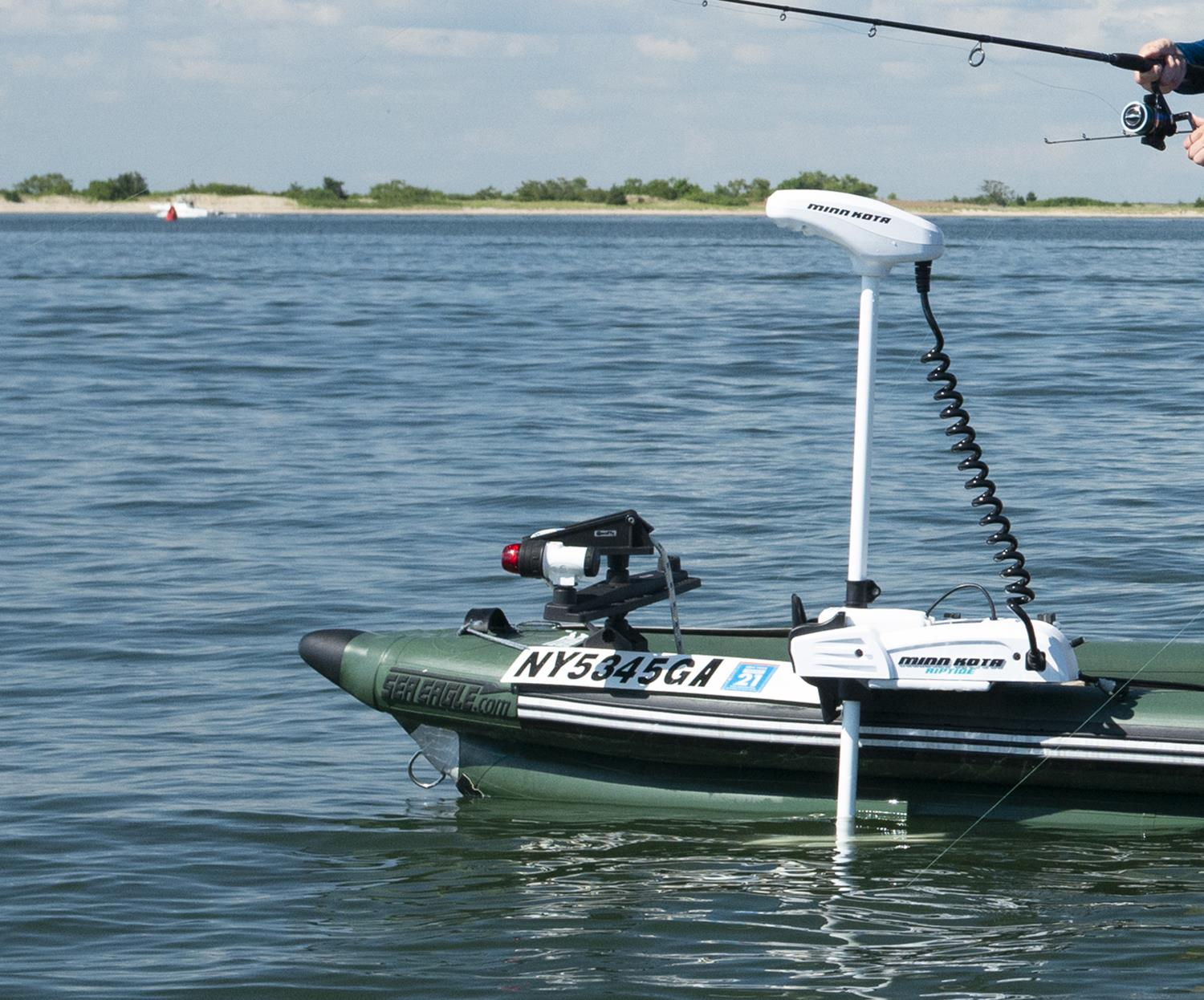 Sea Eagle FSK16 3 person Inflatable Fishing Boat  Package