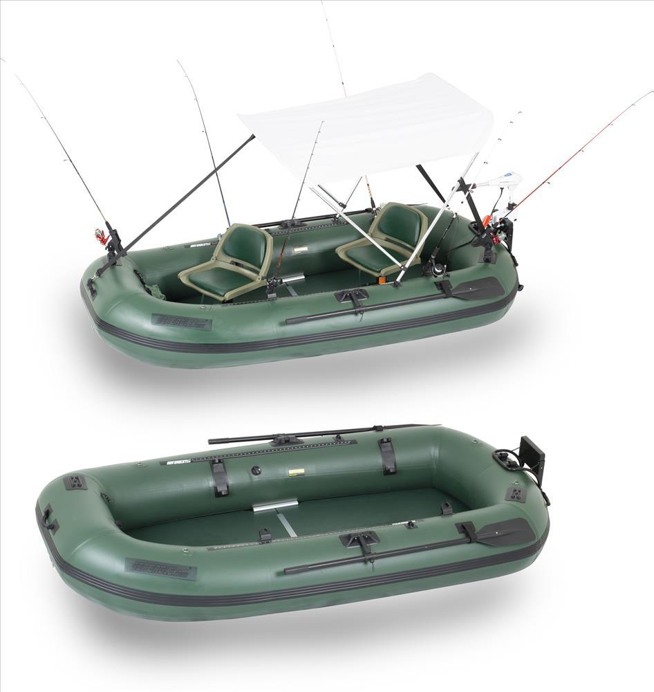 Sea eagle stealth stalker pontoon fishing boat easy for Ebay fishing boats