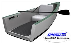 Patented All Drop Stitch Contruction Creates The Shape Of Traditional Canoes