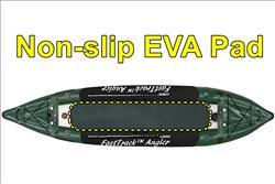 Full Length Non-slip Crocodile Hide EVA Foam Protective Padding