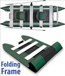 Patented Folding Frame Design, U.S. Patent- #7,240,634